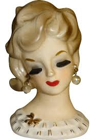 Vintage Lady Head Vases Accessories U2013 Places In The Home