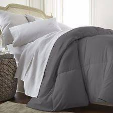 home design down alternative color comforters home design down alternative color full queen comforter grey b1371