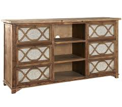 french lattice reclaimed wood mirrored media cabinet zin home french lattice reclaimed wood mirrored media cabinet