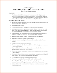 File Clerk Job Description Resume by Sample Resume For Hospital Unit Clerk