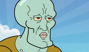 squidward delivers the nasty cephalopod at 3 in the morning