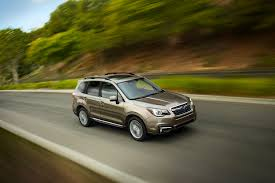 subaru forester 2016 black new tech makes subaru u0027s 2017 forester safer and more dynamic to drive