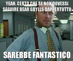 Man Vs Wild Meme - lui 礙 simon reay il cameraman di bear grylls meme by thesimondx
