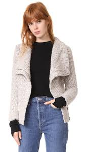 cupcakes and cashmere dallas asymmetrical zip jacket lyst