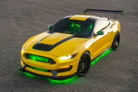 Green And Black Mustang Ford And Shelby U0027s Ole Yeller Mustang Raises 295k U2014 We U0027re Not