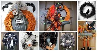 super spooky halloween wreaths that will scare your guests