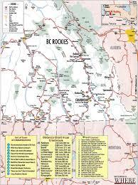 Map Alberta Canada by Kootenay Maps Janice Strong