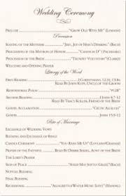 catholic wedding program free catholic wedding program template programming wedding and