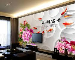 wallpaper bunga lingkaran senior beibehang baru kepribadian indah papel de parede wallpaper