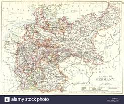 Bavaria Germany Map by Empire Of Germany States Prussia Bavaria Alsace Lorraine