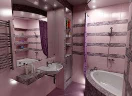 Small Apartment Bathroom Ideas Colors Women Bathroom Design For Small Apartment And Purple Theme Color