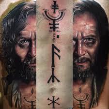 i recreated sirius black u0027s azkaban prison tattoos on