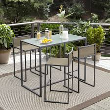 Oasis Outdoor Patio Furniture by Garden Oasis Wallace 5 Piece Sling High Dining Set Limited