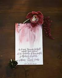 thanksgiving ceremony invitation fall wedding invitations from real weddings martha stewart weddings