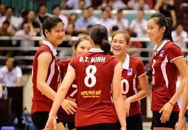 bong nu lịch thi đấu giải bóng chuyền nữ châu á 2017