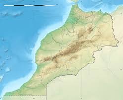 Map Of Spain And Morocco by Casablanca Wikipedia