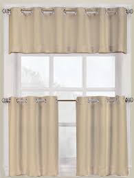 montego grommet kitchen curtains u2013 white u2013 lichtenberg grommet