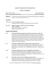 Sample Pharmaceutical Resume by Vet Resume Resume Cv Cover Letter