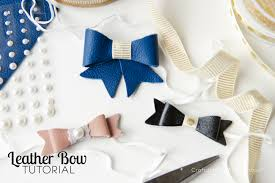 how to make headband bows craftaholics anonymous how to cut leather with silhouette cameo