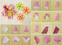 Make Flower With Paper - paper flower how to instructions
