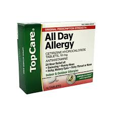 topcare all day allergy 14 ct from price chopper instacart