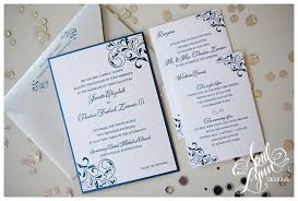 silver wedding invitations janette ted s wedding invitation suite april designs