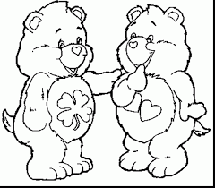 awesome care bear coloring pages teddy bear coloring