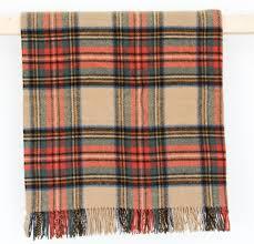wool blanket online british made gifts traditional tartan wool