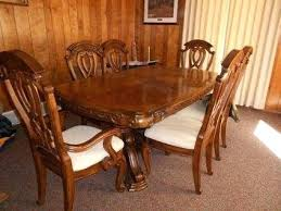 Oak Dining Room Table And 6 Chairs 2500 Gorgeous Aico Amini Royal Oak Dining Room Table 6 Chairs Aico