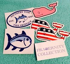 preppy decals 53 best stickers images on preppy stickers