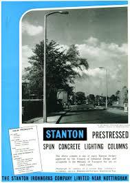 cast iron lighting columns street lighting uk manufacturers stanton advertisements