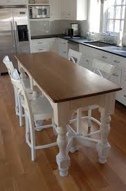 kitchen island table with chairs narrow kitchen island table kitchen table gallery 2017