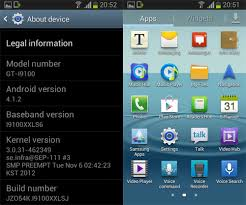 android jellybean android 4 1 2 jelly bean leaked for samsung galaxy s ii pocketnow