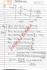 solutions of p k nag engineering thermodynamics by pankaj dumka