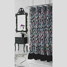Gray Ruffle Shower Curtain Cheap White Ruffle Shower Curtain Find White Ruffle Shower Black