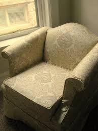 Custom Slipcovers By Shelley Maran Slipper Chair Featuring African Kingfisher Paisley Birds