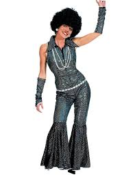 halloween disco costumes amazon com funny fashion boogie queen costume clothing