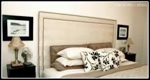 Upholstered Nailhead Headboard by Remodelaholic Upholstered Nail Head Trim Headboard Tutorial