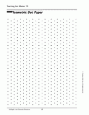printable isometric paper a4 isometric dot paper teachervision