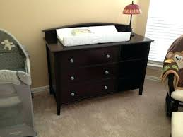 White Dresser Changing Table Combo Dresser Baby Supernicesite Changing Table Best Ideas On Nursery