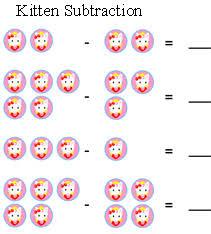 free picture subtraction math activities kindergarten subtraction