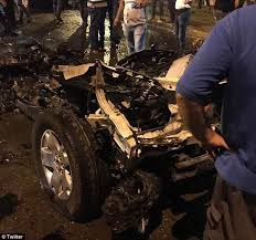 Car Interior Smoke Bomb Isis Car Bomb An Ice Cream Parlour In Baghdad Daily Mail Online