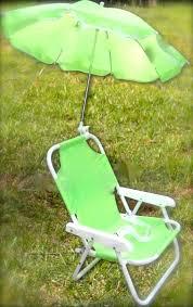 Kids Beach Chair With Umbrella Children U0027s Parasol Chair Kids Deckchair U0026 Parasol Set Green