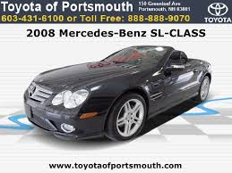 mercedes portsmouth used 2008 mercedes sl class portsmouth nh dealer