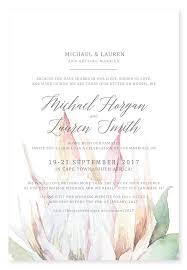 Wedding Invitations Cape Town Southern Protea Digital Invitation U2013 Secret Diary