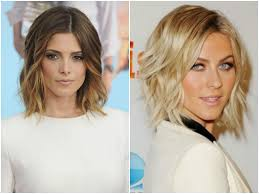 shoulder length haircuts for women 2017 for fine curly and wavy