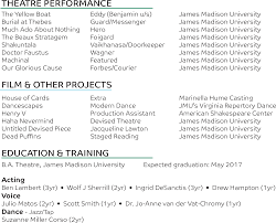 Actor Resume Washington Dc Chris Sanderson Actor Director Graphic And Web Designer