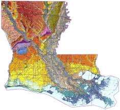 Louisiana Parish Map With Cities by Louisiana