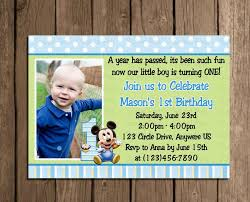design sophisticated boy first birthday party invitations with
