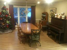 executive large family fun on lake desoto f vrbo christmas tree set up in the dining room with piano to play an village lights